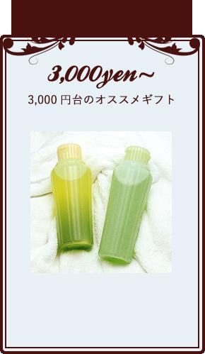 3,000円台のオススメギフト
